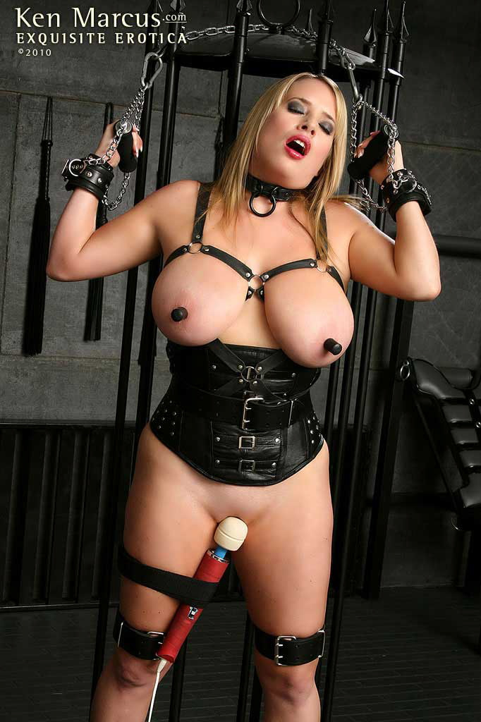 Fetish bondage leather