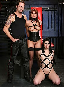 Master Luke Degre and his slavegirls